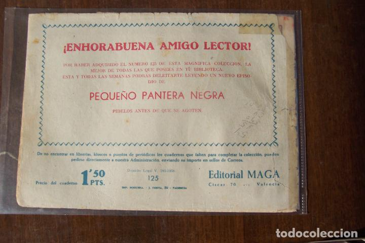 Tebeos: maga, pantera negra 125, es nº 1 2º formato pequeño p. n. - Foto 2 - 183467231