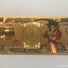 Tebeos: SUPER SAIYAN 4 BILLETE DORADO 30 ANIVERSARIO DRAGON BALL. Lote 183903832