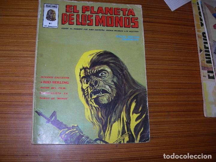 EL PLANETA DE LOS MONOS Nº 1 EDITA VERTICE (Tebeos y Cómics - Números 1)