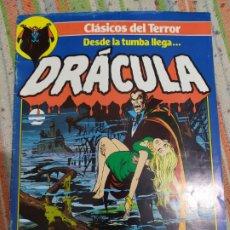 Tebeos: DRACULA CLASICOS DEL TERROR COMICS FORUM N° 1. Lote 184276680