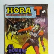 Tebeos: HORA T. EL HOMBRE ARAÑA. Nº 1. BRUGUERA. 1975.. Lote 184561711