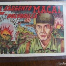 Livros de Banda Desenhada: GRAFIDEA,- SARGENTO MACAI Nº 1 . Lote 184926508