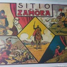 Livros de Banda Desenhada: SITIO DE ZAMORA. NUM 1. HEROICOS EPISODIOS DE LA HISTORIA DE ESPAÑA. 1943. Lote 186261048