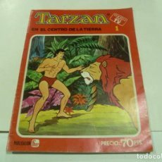 Tebeos: TARZAN EN EL CENTRO DE LA TIERRA Nº 1. Lote 187333458