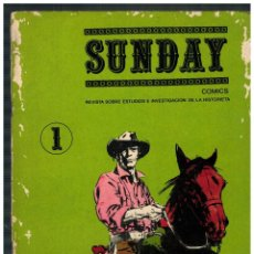 Tebeos: SUNDAY Nº 1 M. AYUSO 1985. . Lote 187455378