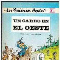 Tebeos: LOS GUERRERAS AZULES Nº 1. NOVARO 1978. EXCELENTE.. Lote 187463978