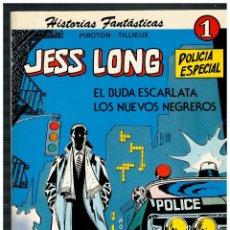 BDs: JESS LONG Nº 1. NOVARO 1978. EXCELENTE.. Lote 187464083