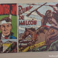 Livros de Banda Desenhada: FRONTIER JIM NÚM. 1. PLUMA DE HALCÓN. ORIGINAL. EDITA MATEU 1957. Lote 188629502