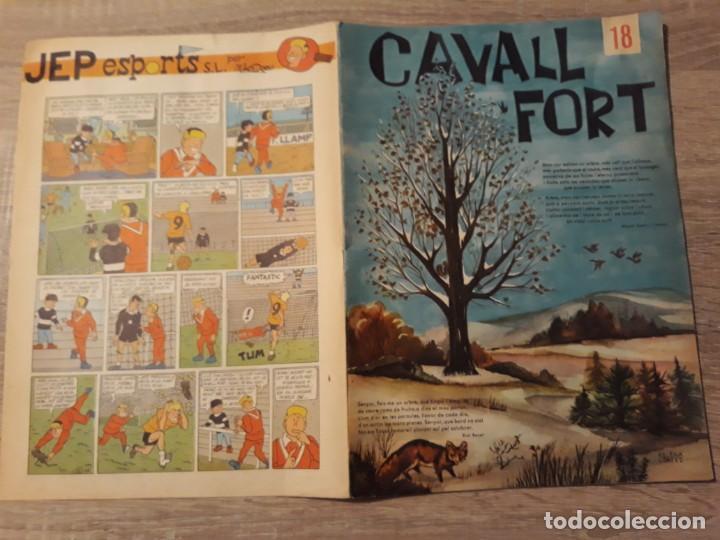 CAVALL FORT NÚMERO 18, GRAN FORMATO.1963. (Tebeos y Cómics - Números 1)