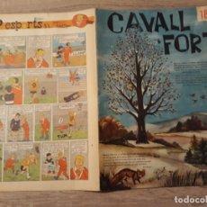 Giornalini: CAVALL FORT NÚMERO 18, GRAN FORMATO.1963.. Lote 189103676