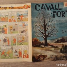 Tebeos: CAVALL FORT NÚMERO 18, GRAN FORMATO.1963.. Lote 189103676