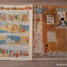 Tebeos: CAVALL FORT NÚMERO 19 GRAN FORMATO.1963.. Lote 189103786