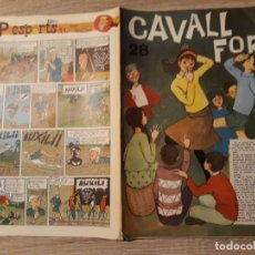 Tebeos: CAVALL FORT NÚMERO 28 ,GRAN FORMATO.1963.. Lote 189104337
