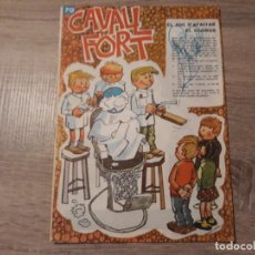 Tebeos: CAVALL FORT NÚMERO 70. Lote 189354443