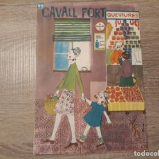 Tebeos: CAVALL FORT NÚMERO 92.. Lote 189354570