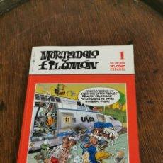 Tebeos: MORTADELO Y FILEMON BIBLIOTECA EL MUNDO N1. Lote 190286211