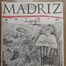 Livros de Banda Desenhada: MADRIZ Nº 1 (COMIC). Lote 190582383