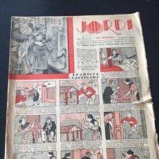 Tebeos: JORDI Nº 1 (ALTÉS, 1933). REVISTA EN CATALÁN. Lote 191451810
