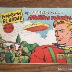 Tebeos: FREDY BARTON, EL AUDAZ Nº 1 (VALENCIANA, 1961). Lote 191485828