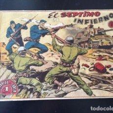 Tebeos: EPISODIOS DE COREA Nº 1. EL SÉPTIMO INFIERNO (RICART, 1955, SEGUNDA ÉPOCA). Lote 191488715