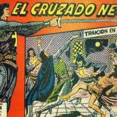Giornalini: EL CRUZADO NEGRO NÚMERO 1 (MAGA, 1961) DE MANUEL GAGO. Lote 191931398