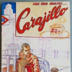 BDs: CARAJILLO , Nº 1 Y ÚNICO - 1975 - CÓMIC DE MADRID, IMPRESO EN BARCELONA - ED. MADRAGORA.. Lote 193262207