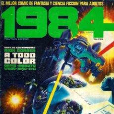Livros de Banda Desenhada: 1984 Nº 1 EN 1ª EDICION, 75 PTAS DE VALOR FACIAL - TOUTAIN 1978 - RICHARD CORBEN, ORTIZ, MAROTO, ETC. Lote 193350961