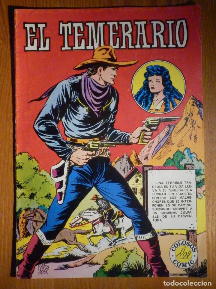 COMIC - EL TEMERARIO Nº 1 , VALENCIANA (Tebeos y Cómics - Números 1)