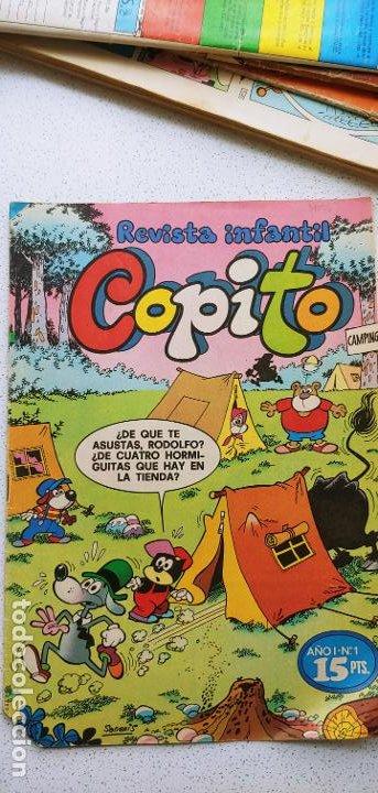 REVISTA INFANTIL COPITO AÑO I Nº 1 UNO 1977 DUPA SIFRE SANCHIS ROJAS ... (Tebeos y Cómics - Números 1)