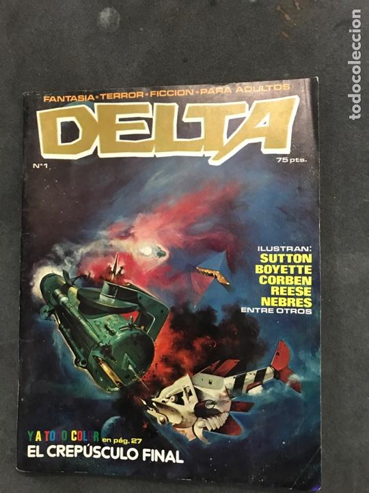 DELTA CÓMICS NÚMERO 1 DE 1980 (Tebeos y Cómics - Números 1)