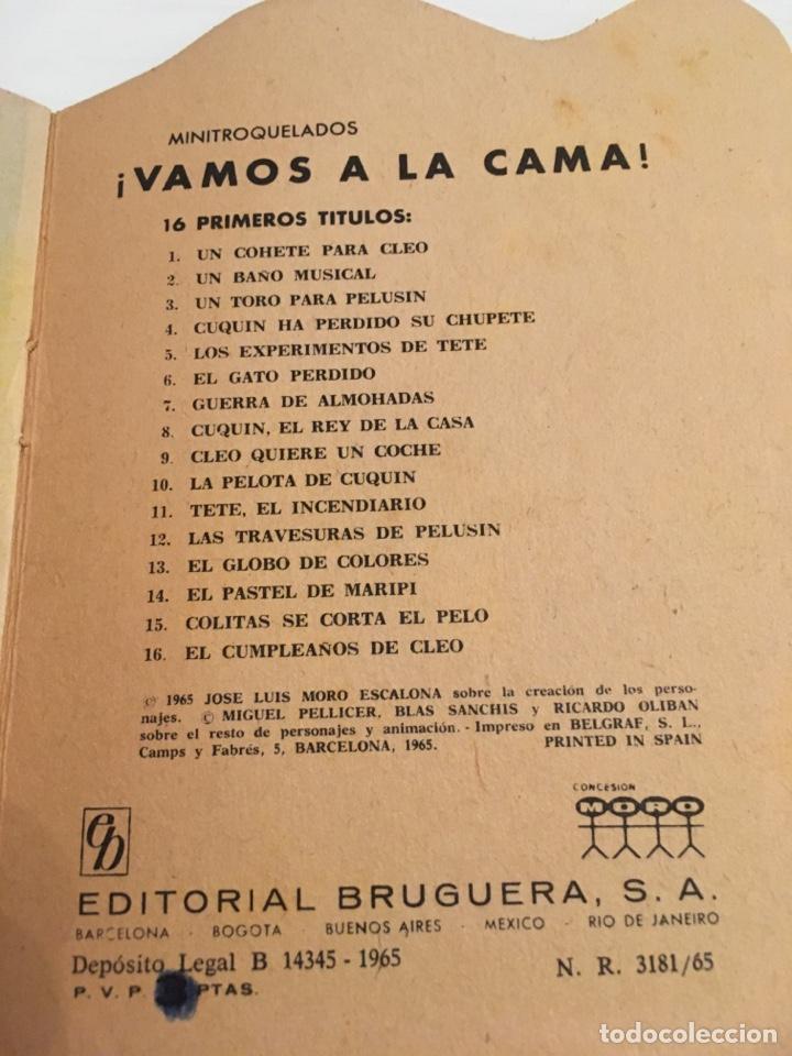 Tebeos: CUENTO HALE VAMOS A LA CAMA FAMILIA TELERIN NÚMERO 1 - Foto 3 - 194226400