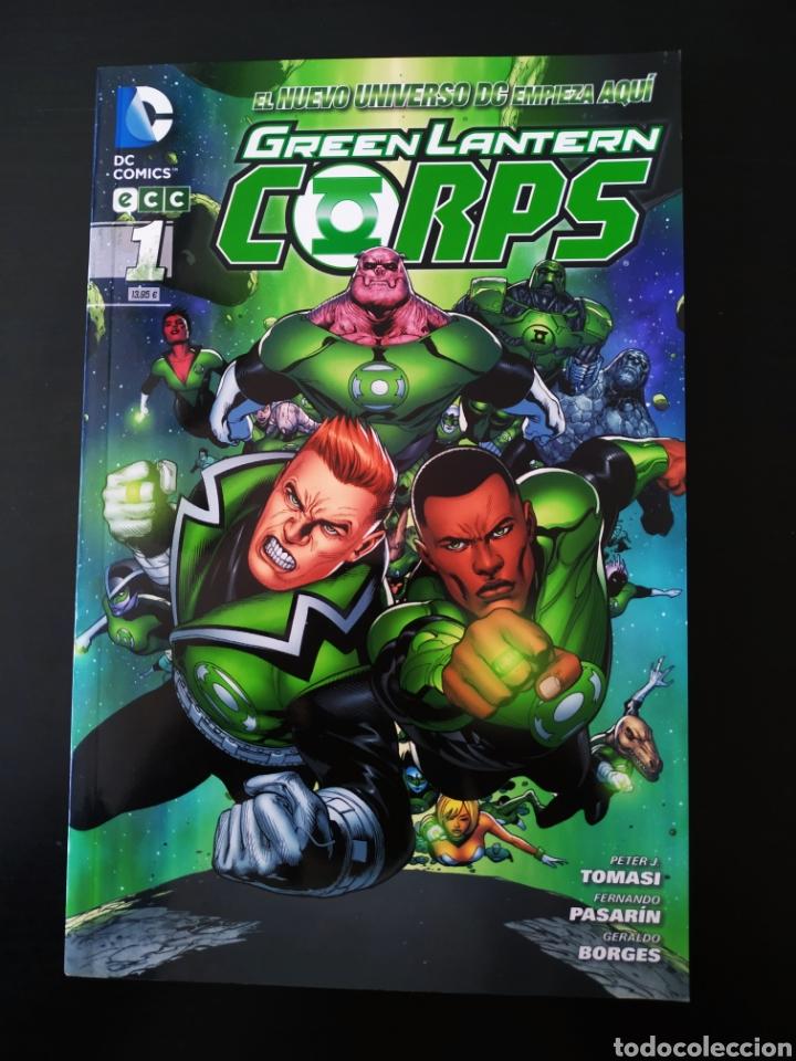 DE KIOSCO GREEN LANTERN CORPS 1 ECC DC COMICS TOMO (Tebeos y Cómics - Números 1)