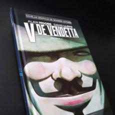 Tebeos: DE KIOSCO V DE VENDETTA 1 ECC COLECCION VERTIGO ALAN MOORE / DAVID LLOYD TOMO. Lote 194285601