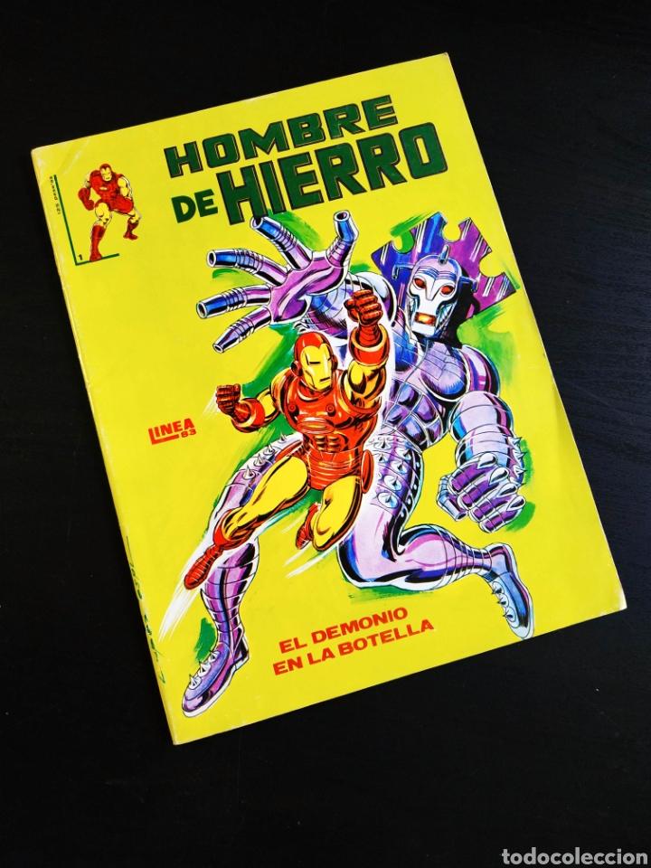 CASI EXCELENTE ESTADO EL HOMBRE DE HIERRO 1 VERTICE LINEA 83 (Tebeos y Cómics - Números 1)