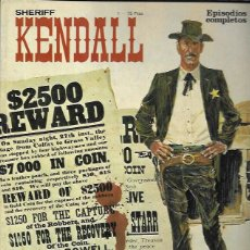Tebeos: SHERIFF KENDALL. BURU LAN 1973. Nº 1. Lote 194683810