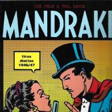 Tebeos: MANDRAKE. Nº 1. TIRAS DIARIAS 1946/47. MAGERIT 1997. Lote 194683843