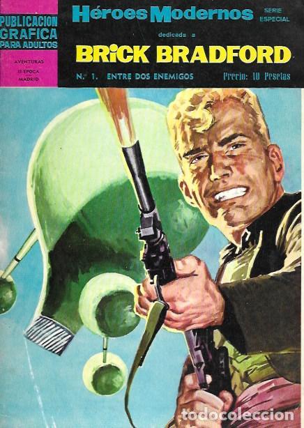 BRICK BRADFORD. DOLAR 1966. Nº 1 ENTRE DOS ENEMIGOS (Tebeos y Cómics - Números 1)
