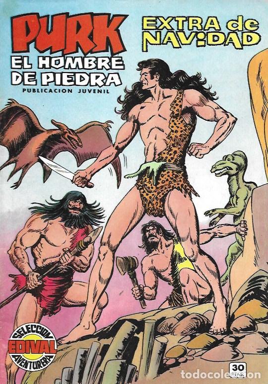 PURK EL HOMBRE DE PIEDRA. VALENCIANA 1974. EXTRA DE NAVIDAD (Tebeos y Cómics - Números 1)