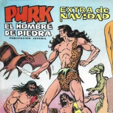Tebeos: PURK EL HOMBRE DE PIEDRA. VALENCIANA 1974. EXTRA DE NAVIDAD. Lote 194683848