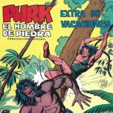 Tebeos: PURK EL HOMBRE DE PIEDRA. VALENCIANA 1974. EXTRA DE VACACIONES. Lote 194683852