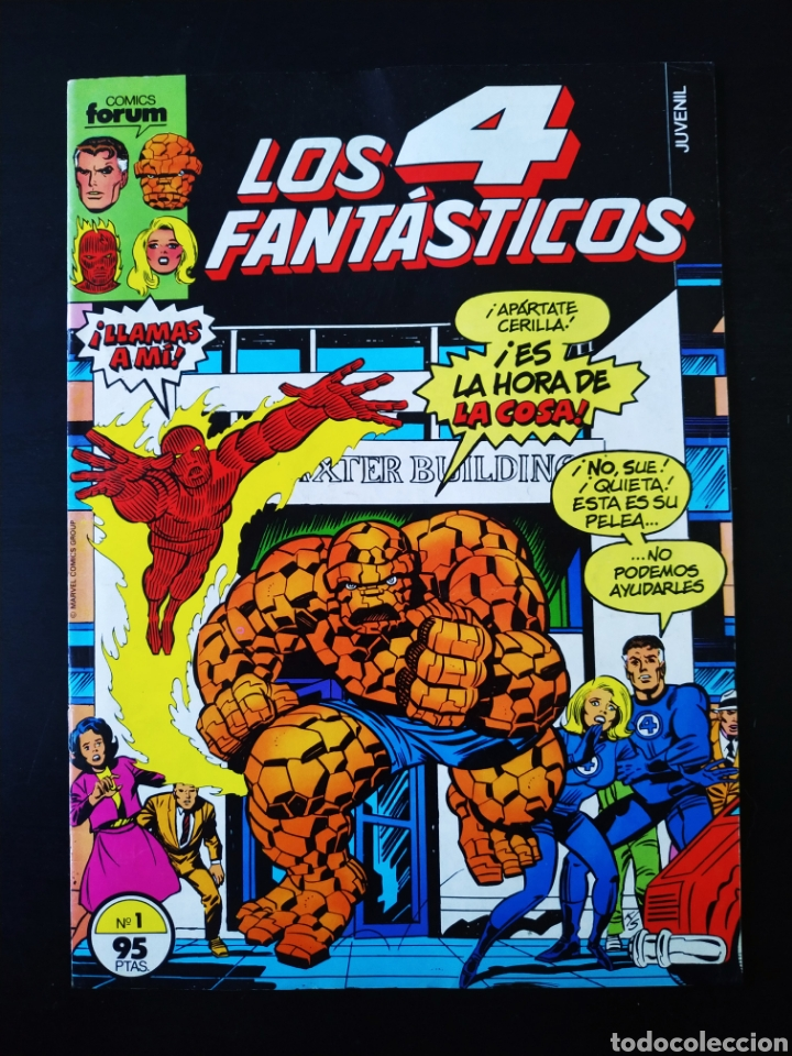 EXCELENTE ESTADO LOS 4 FANTASTICOS 1 FORUM (Tebeos y Cómics - Números 1)