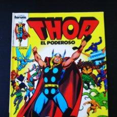 Tebeos: EXCELENTE ESTADO THOR EL PODEROSO 1 FORUM. Lote 194750802