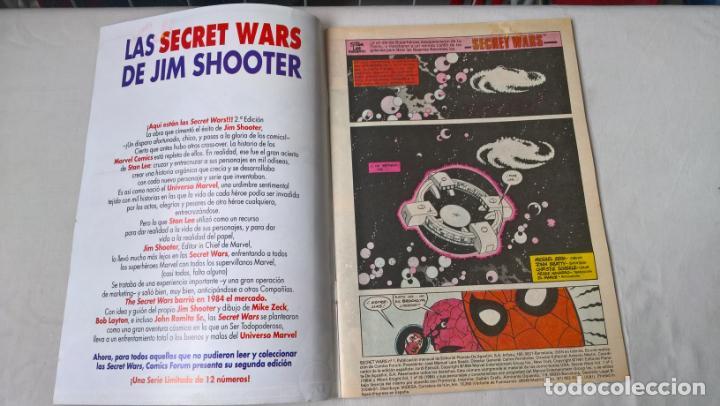 Tebeos: COMIC: SECRET WARS Nº 1 - Foto 2 - 194888548