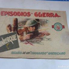 Tebeos: EPISODIOS DE GUERRA Nº 1 ORIGINAL. Lote 195065341