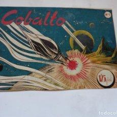 Tebeos: COBALTO Nº 1 SIMBOLO ORIGINAL . Lote 195088596