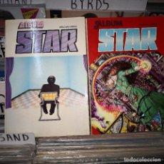 Tebeos: STAR - ALBUM RETAPADO - Nº 1 Y 2,CONTIENE DEL 1AL 8. Lote 195462515