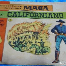 Tebeos: EL CALIFORNIANO Nº 1 ORIGINAL.- LEER DESCRIPCION Y VER FOTOS. Lote 195848533