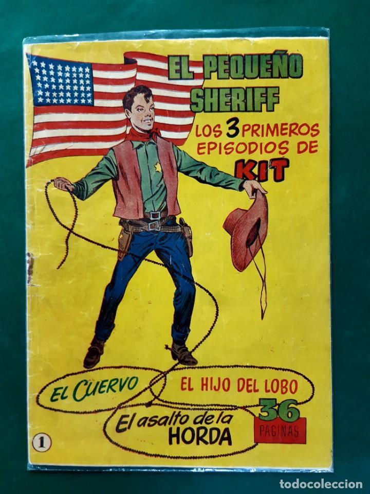 EL PEQUEÑO CHERIFF Nº 1 ORIGINAL HISPANO AMERICANA (Tebeos y Cómics - Números 1)