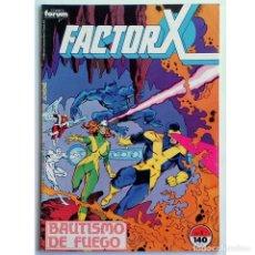 Tebeos: FACTOR X VOL 1 Nº 1 / MARVEL / FORUM 1988 (BOB LAYTON & JACKSON GUICE). Lote 197831405