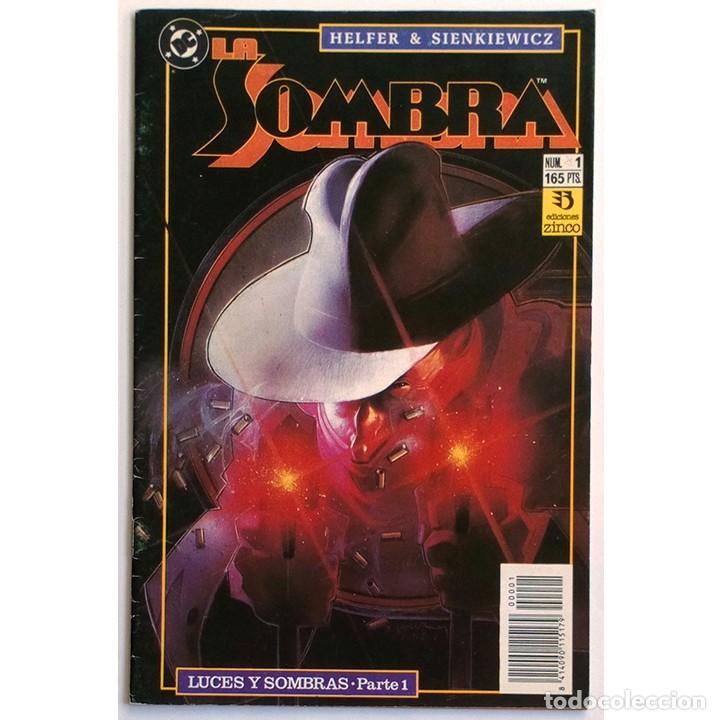 LA SOMBRA Nº 1 / THE SHADOW / ZINCO / DC 1991 (ANDREW HELFER & BILL SIENKIEWICZ) (Tebeos y Cómics - Números 1)